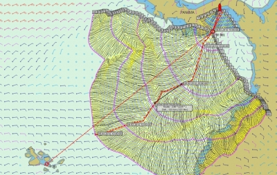 Route planning to the Galapagos